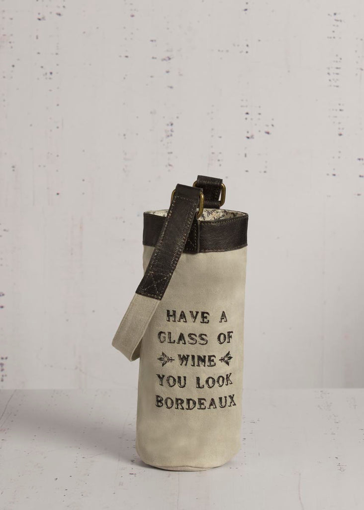 """Bordeaux"" Wine Bag"