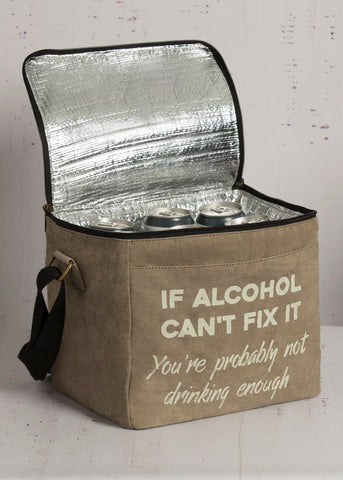 """Can't Fix It"" 12 Pack Up-Cycled Cooler"