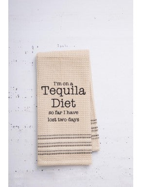 """Tequila Diet"" Dishtowel"