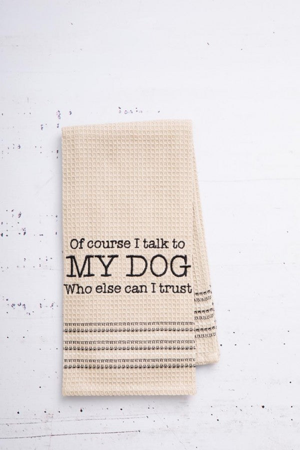 """My Dog"" Dishtowel"