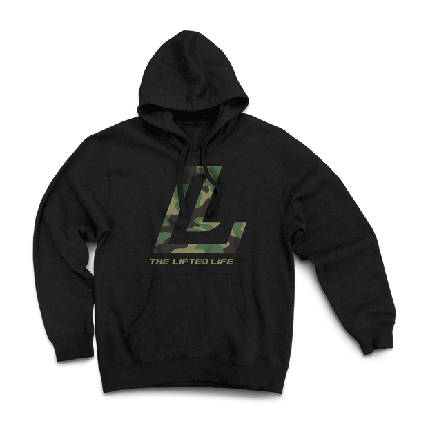 The Lifted Life Camo Fill Hoodie - Lifted Life