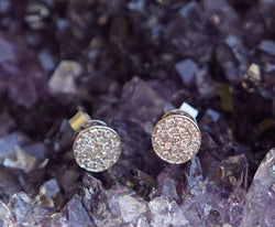 Twinkle Disc Earrings
