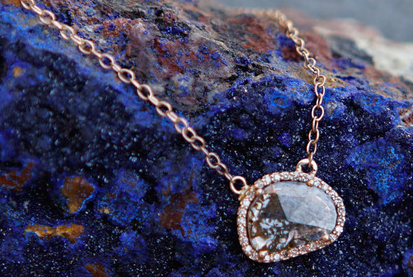 Diamond in the Rough Necklace- Large