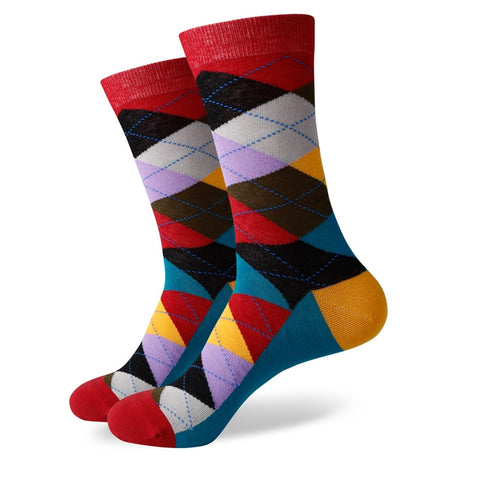 Argyle Socks - Multi-Color #5