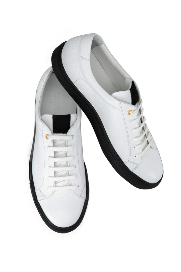 Pebble Low Top Sneakers White