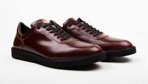 Roadster Sneaker - Bordeaux on Black