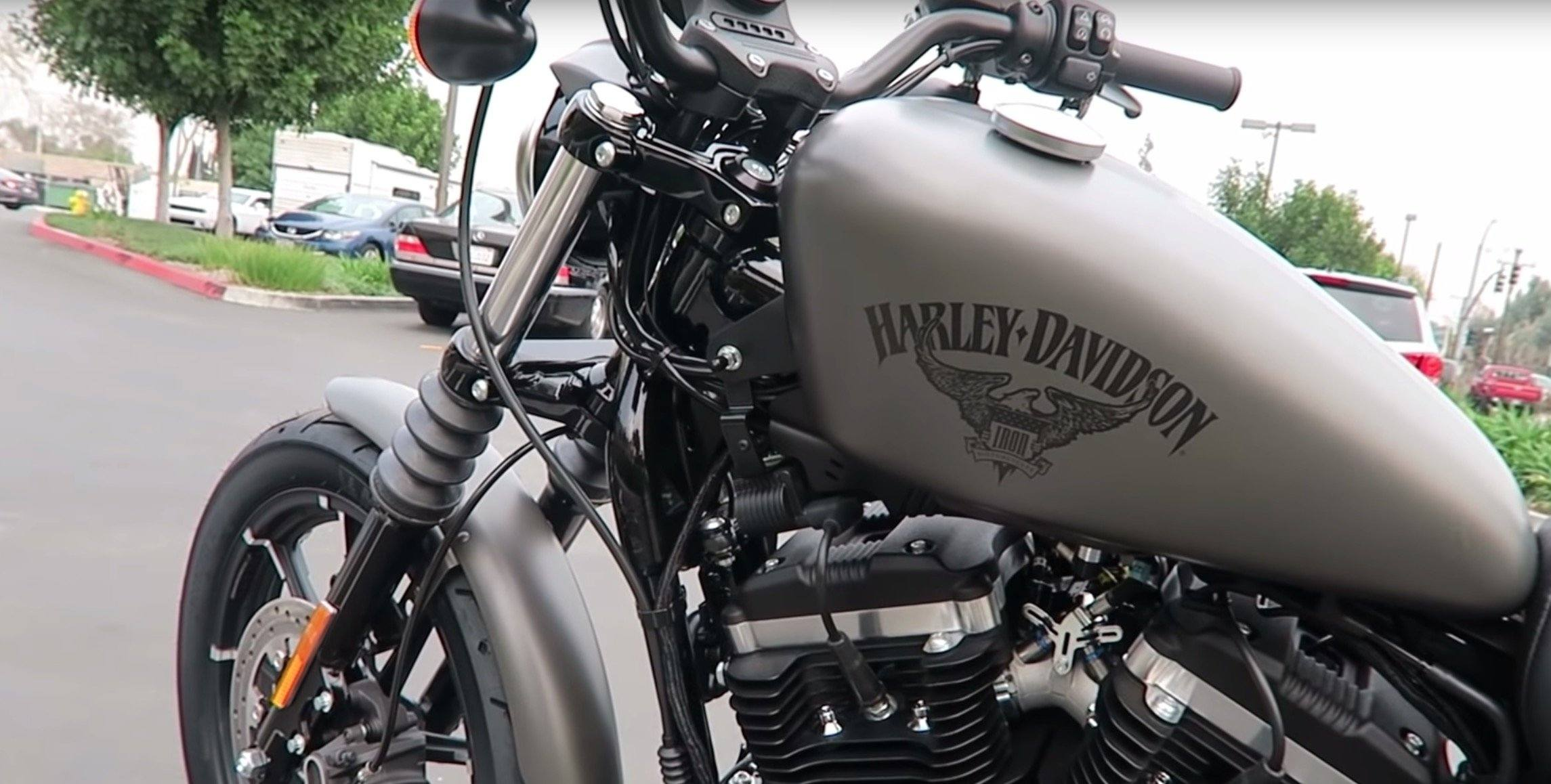 6 Facts About The Harley Davidson Sportster Iron 883R