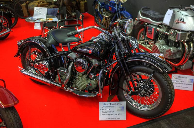 Everything about the 1947 Harley Davidson Knucklehead