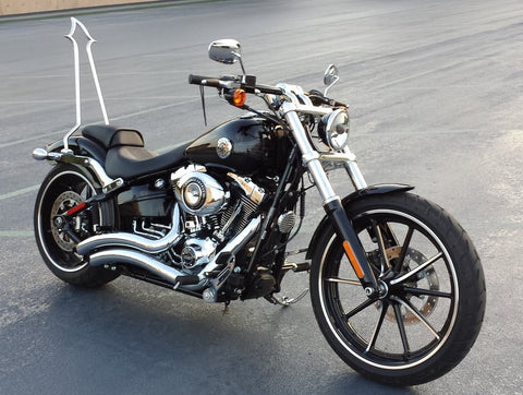 2014 Breakout Devil Tail Xtreme With Ginz Softail Breakout Rigid Mounts