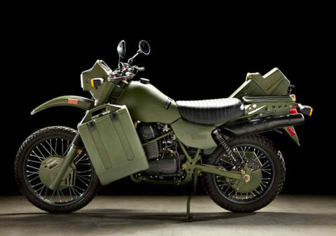 harley davidson mt500 military