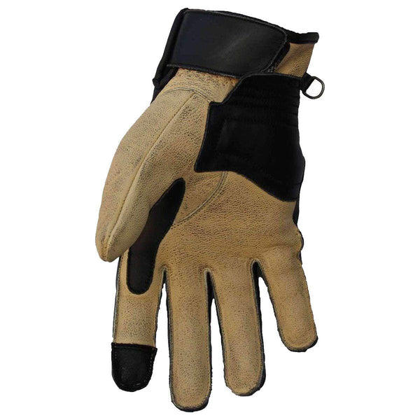 "Bobberbrothers Apparel Gloves Motorcycle Gloves ""Tricolor"""