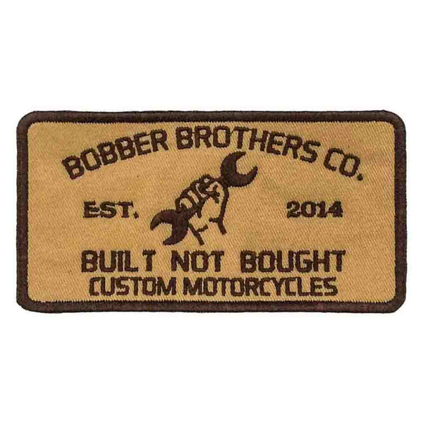 Bobberbrothers Patch Bobberbrothers Co. Patch Brown