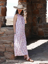 Summer Pink Floral Maxi