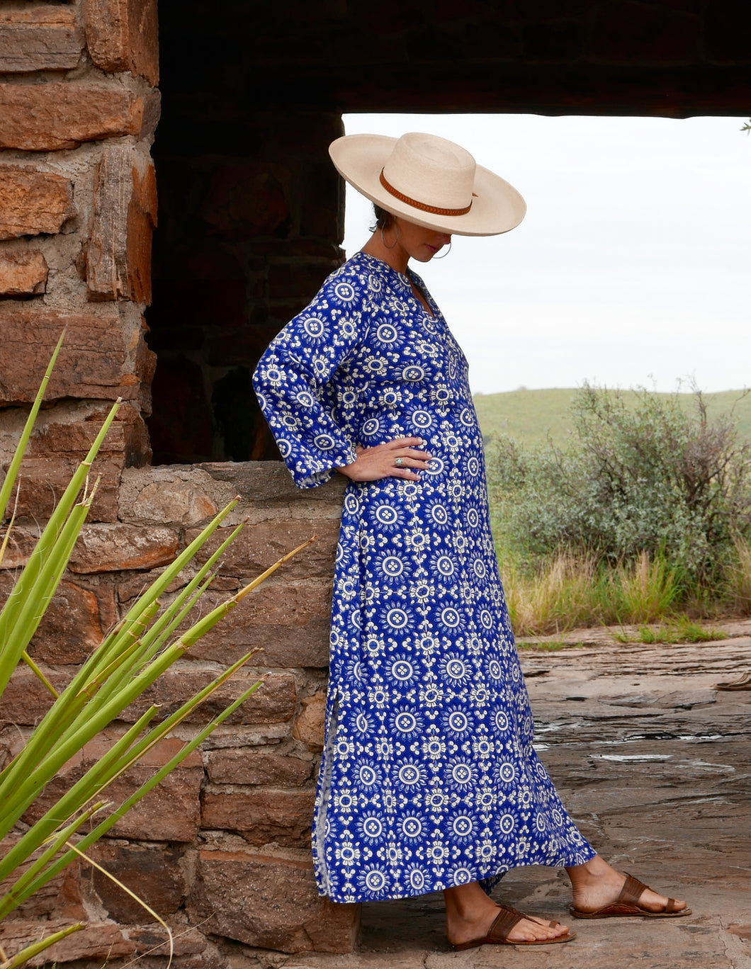 Kaftan Maxi Dress-Block No. 4