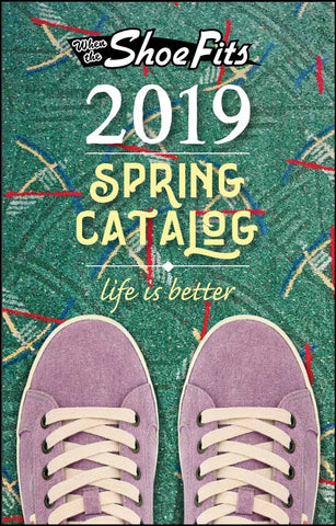 Spring Shoe Sale catalog for annual 2019 sale at When the Shoe Fits
