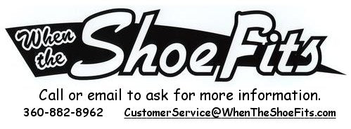 Contact us with questions you may have shoes or appointment for special needs.