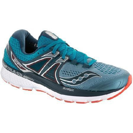 Saucony Men's Triumph ISO 3 - Grey/Blue/Red