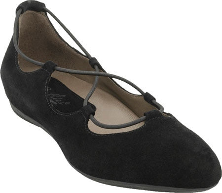 Earthies Essen - Black Suede