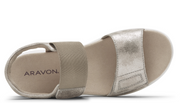 Aravon Beaumont Two Strap - Metallic