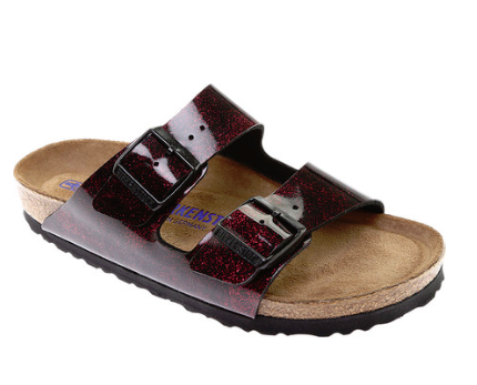 Birkenstock Arizona SFB - Milkyway Red