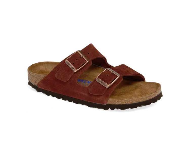 Birkenstock Arizona SFB - Port Suede