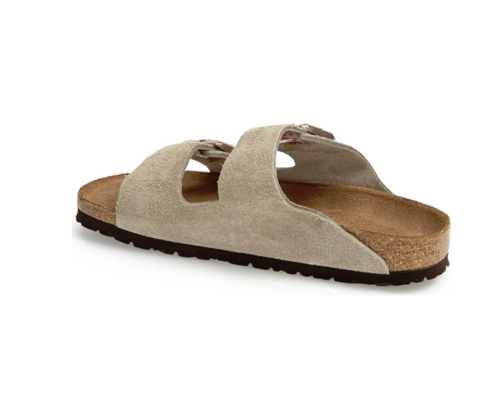 Birkenstock Arizona Soft Footbed Taupe   When The Shoe Fits