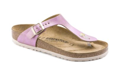 Birkenstock Gizeh - Washed Metallic Pink