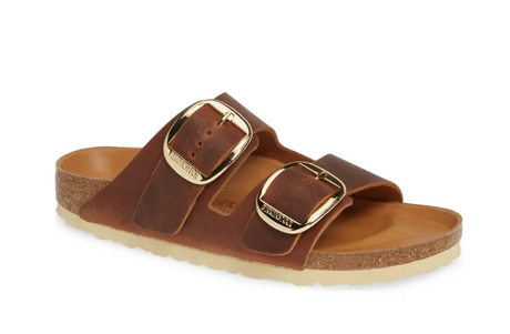 Birkenstock Arizona Big Buckle - Cognac