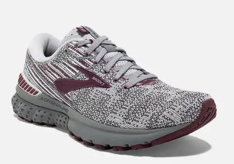 Brooks Adrenaline GTS 19 Women's - Grey/White/Fig 061