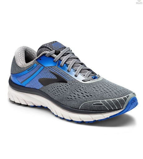 Brooks Men's Adrenaline 18 GTS  - Grey/Blue