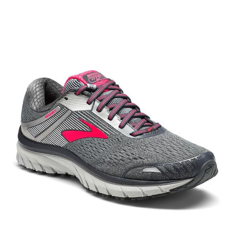 Brooks Women's Adrenaline 18 GTS - Ebony/Silver/Pink