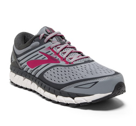 Brooks Ariel 18 - Grey/Grey/Pink