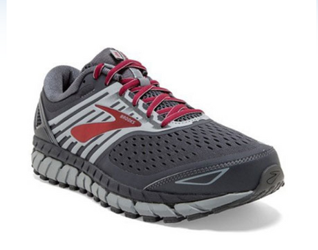 Brooks Beast 18 - Ebony/Red
