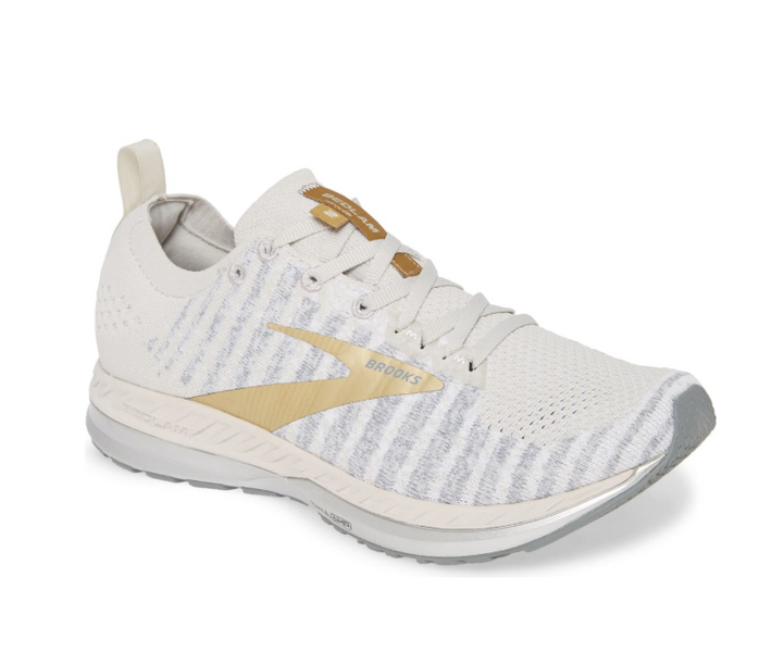 Brooks Bedlam 2 - White/Grey/Gold