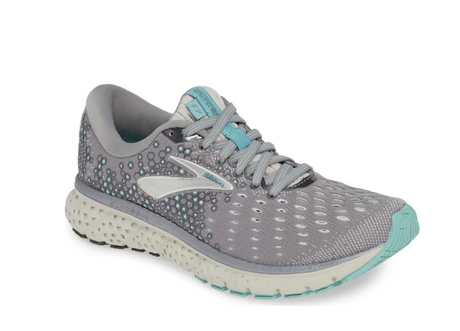 Brooks Glycerine 17 - Grey/Aqua