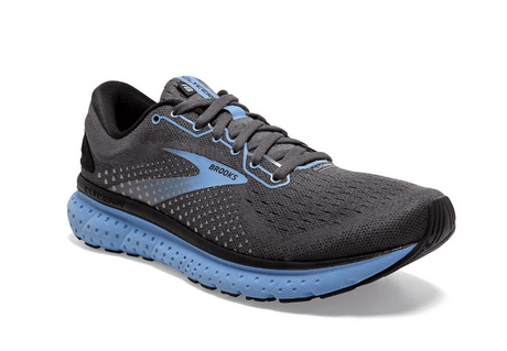Brooks Glycerin 18 - Black/Cornflower