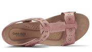Cobb Hill Hollywood T-Strap - Rose