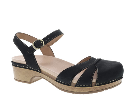 Dansko Betsey - Black Milled