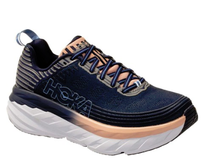 Hoka One One Bondi 6 - Mood Indigo/Dusty Pink