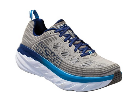 HOKA ONE ONE  Bondi 6 Mens - Vapor Blue/Frost Grey
