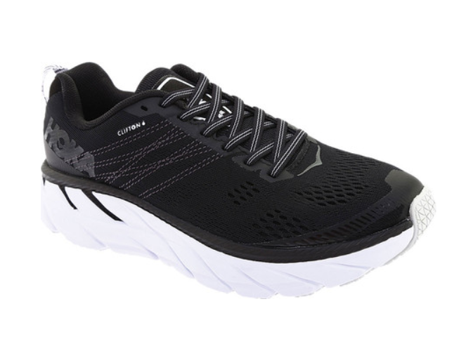 HOKA ONE ONE Clifton 6 Women's - Black/White