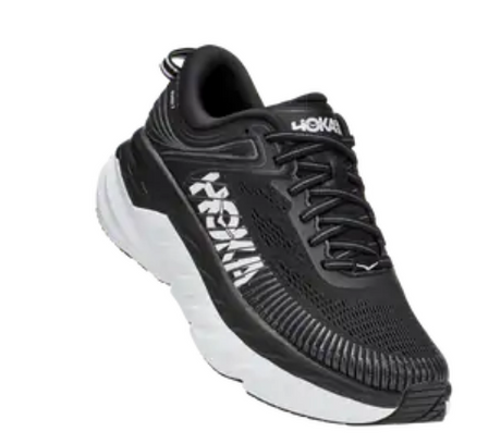 Hoka One One Bondi 7 Womens - Black/White