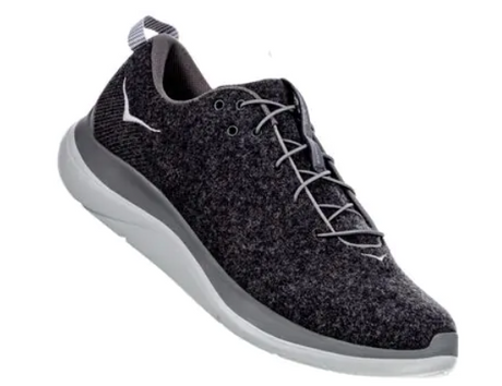 Hoka One One Hupana Flow Wool - Dark Shadow