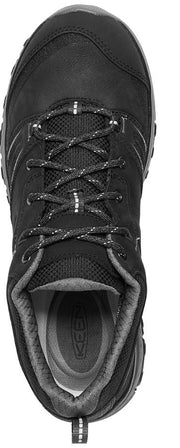 KEEN Terradora Leather WP - Black/Steel Grey