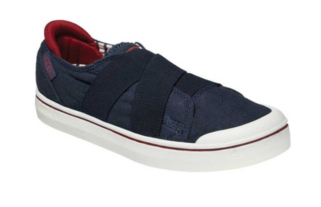 KEEN Elsa IV Gore Slip-On - Blue Night/Star White