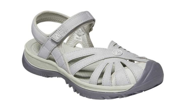KEEN Rose Sandal - Light Gray/Silver