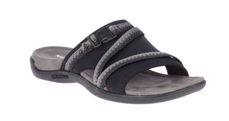 Merrell District Muri Slide - Black/Charcoal