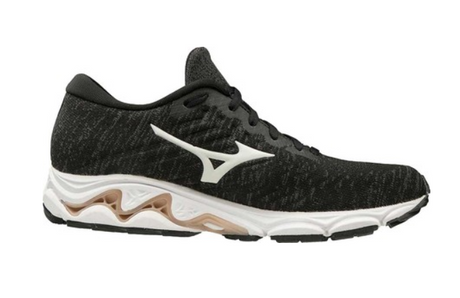 Mizuno Wave Inspire 16 Knit - Black/White