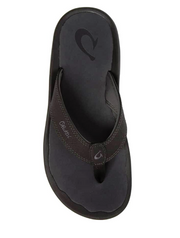 Olukai Men's Ohana - Black/Dark Shadow