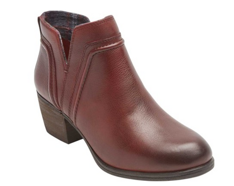 Rockport Anisa V-Cut Bootie - Red